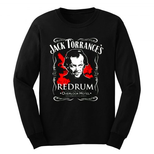 The Shining Jack Torrances Redrum Stephen King Kubrick Horror Movie Classic Long Sleeve