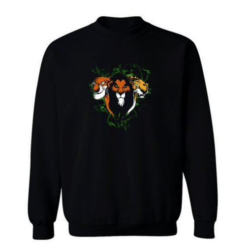 Three Lions The Lions King Disney Sweatshirt