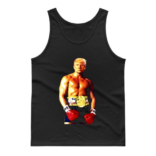 Trump Rocky Funny Meme Boxing Tank Top