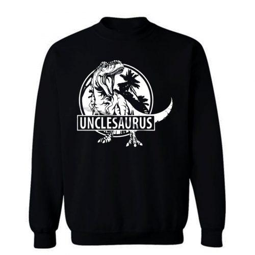 Unclesaurus Dinosaur Uncle Funny Sweatshirt