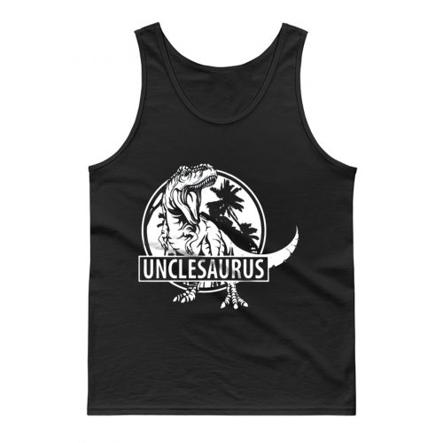 Unclesaurus Dinosaur Uncle Funny Tank Top