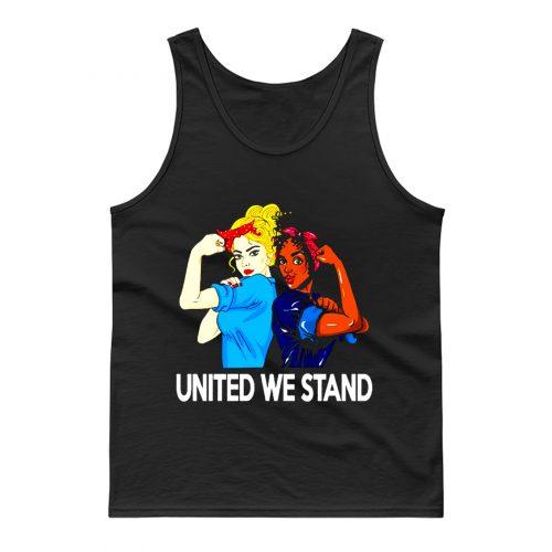 United We Stand Black lives matter Tank Top