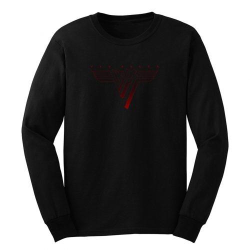 Van Hallen Red Logo Long Sleeve