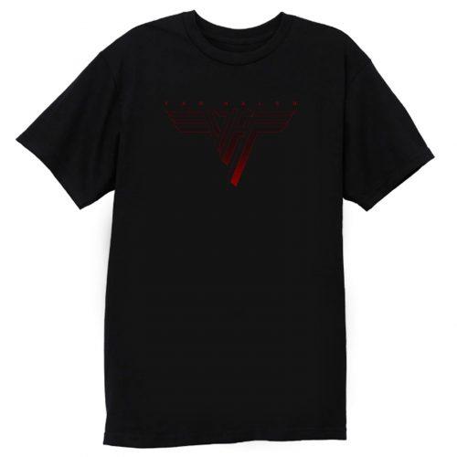 Van Hallen Red Logo T Shirt