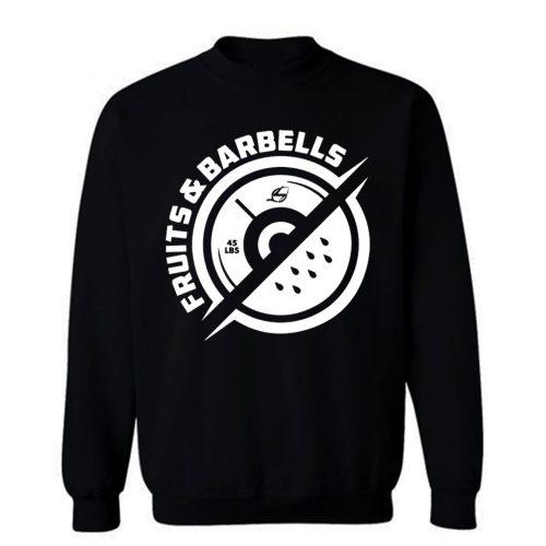 Vegan Fruits And Barbells Sweatshirt