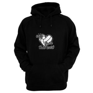 Volleyball My Heart is on That Court Hoodie