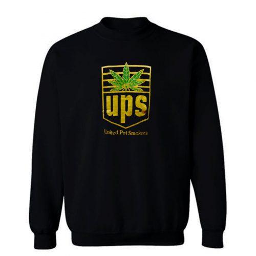 Weed Marijuana United Pot Smoker Sweatshirt