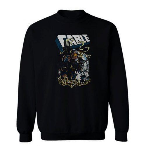 XMen Cable Shell Casings Marvel Comics Sweatshirt