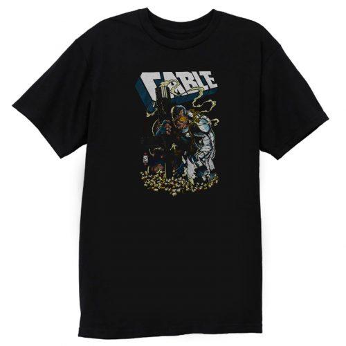 XMen Cable Shell Casings Marvel Comics T Shirt