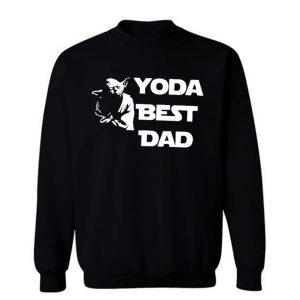 Yoda Best Dad Master Yoda Star Wars Sweatshirt