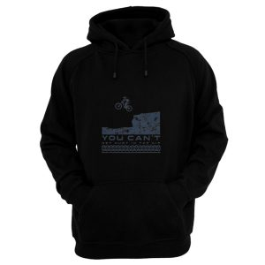 You Cant Hurt In The Air Mountain Biking Hoodie