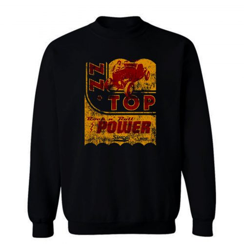 ZZ Top Oil Power Band Sweatshirt