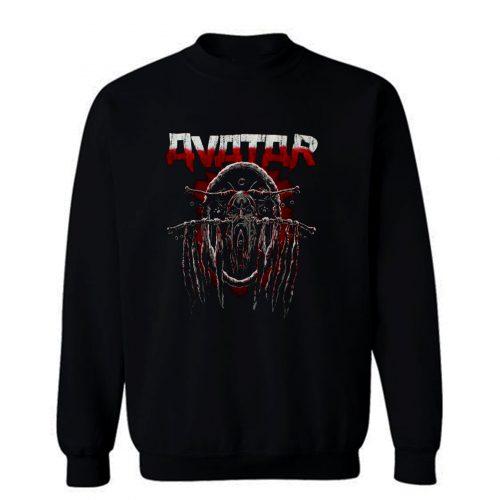 AVATAR RAVEN WINE BLACK HEAVY METAL GROOVE METAL Sweatshirt