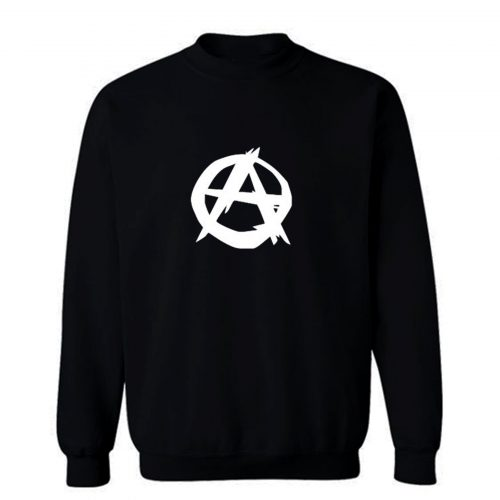 Anarchie Zeichen Damen Sweatshirt