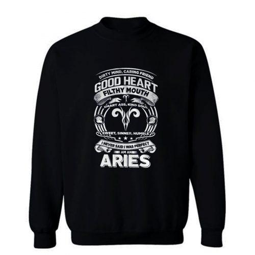 Aries Good Heart Filthy Mount Sweatshirt