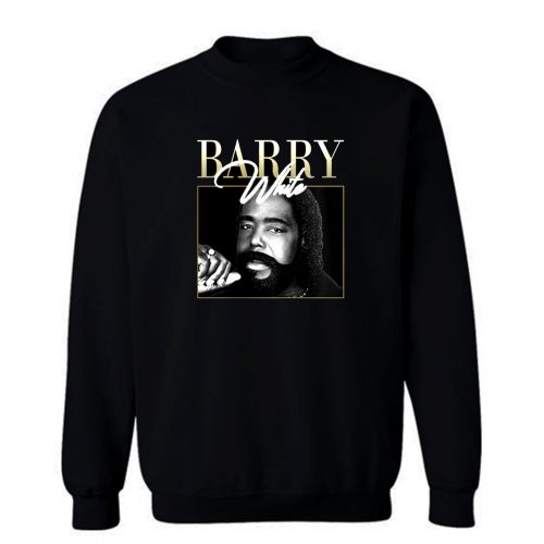 Barry White Vintage 90s Retro Sweatshirt
