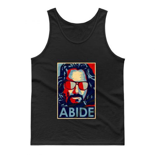 Big Lebowski Abide Hope Style The Dude Tank Top
