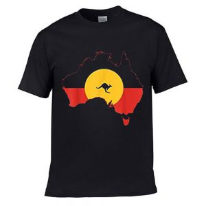 Black Flag Aboriginal Tshirt