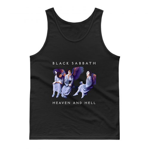 Black Sabbath Heaven And Hell Tank Top