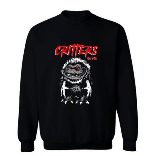 CRITTERS science fiction comedy horror Sweatshirt