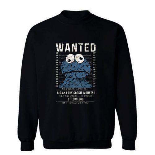 Cookie Smuggler Monster Funny Sweatshirt