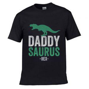 Daddy Saurus Funny T shirt