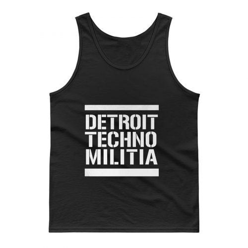 Detroit Techno Militia Tank Top