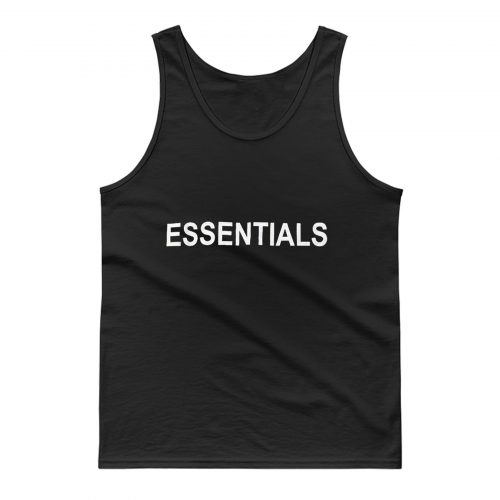 ESSENTIALS GRAPHIC PULLOVER Tank Top