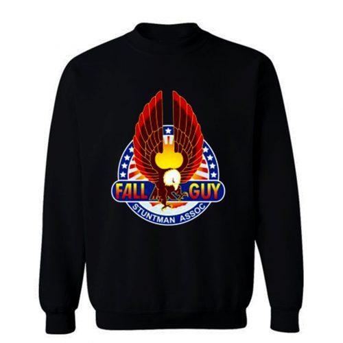 Fall Guy insignia Retro Stuntman Sweatshirt