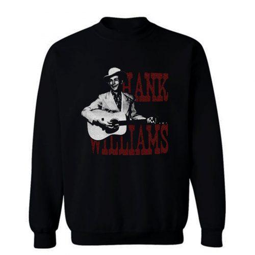 HANK WILLIAMS country western Sweatshirt