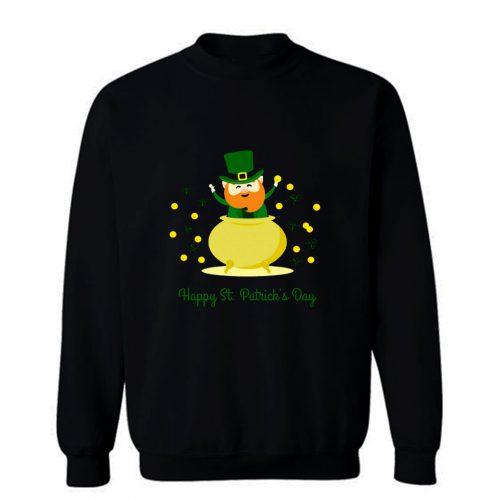 Happy St Sweatshirt