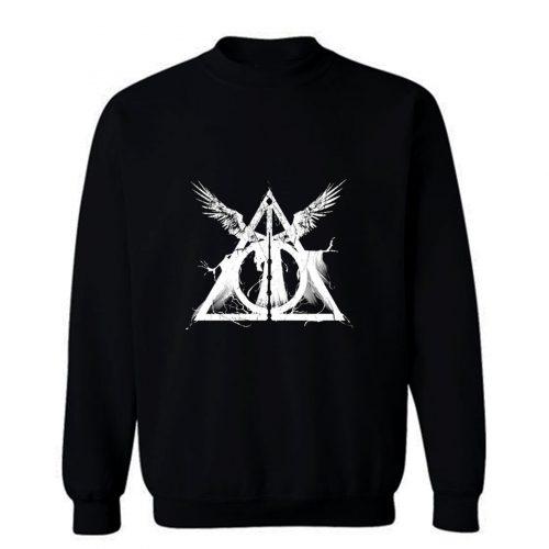 Harry Potter Deathly Hallows Three Brothers Sweatshirt