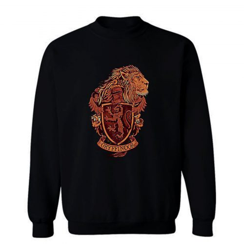 Harry Potter Gryffindor Lion Sweatshirt