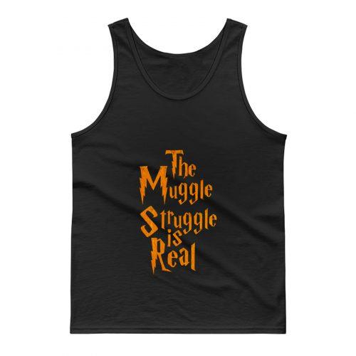 Harry Potter Muggle Struggle Tank Top