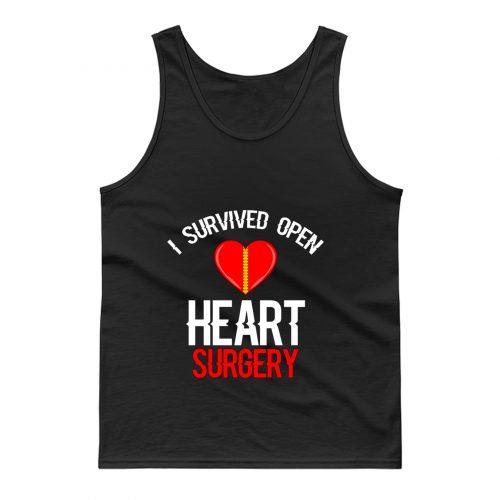 I Survived Open Heart Surgery Men Women Tank Top