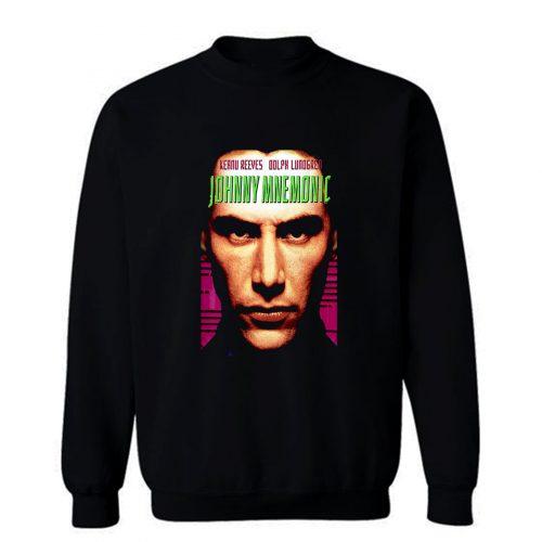 Johnny Mnemonic movie poster Sweatshirt