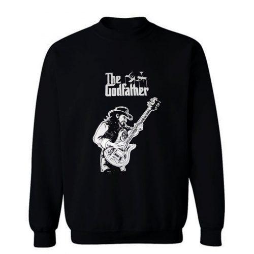 Lemmy tribute shirt motorhead biker punk heavy metal Sweatshirt