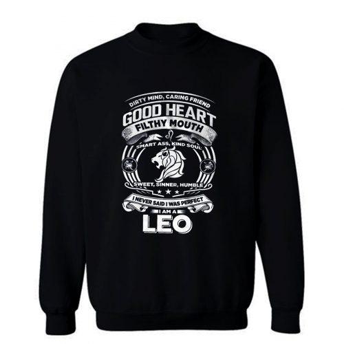 Leo Good Heart Filthy Mount Sweatshirt