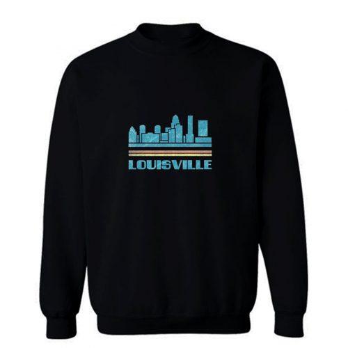 Louisville Shirt Louisville City Kentucky KY Skyline Tee Cityscape Sweatshirt