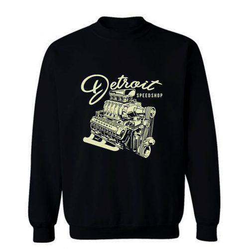 Mens Detroit Speed Shop Rocket Sweatshirt
