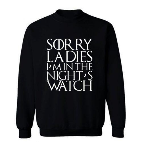 Mens Game of Thrones In The Nights Watch Jon Snow Boyfriend Sweatshirt