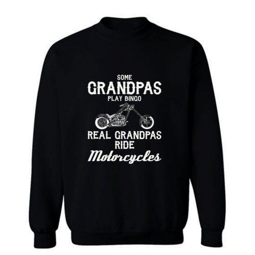 Motorcycles For Grandpa t Grandfather Sweatshirt