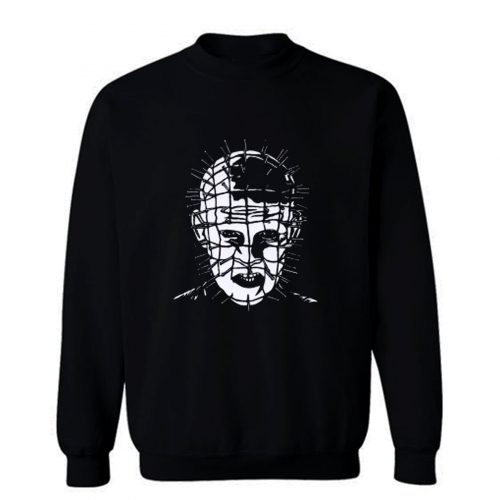 New Hellraiser Pinhead Horror Sweatshirt