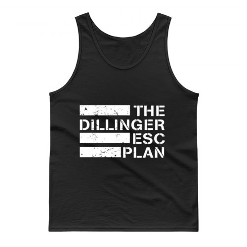 New The Dillinger Escape Plan Metal Band Tank Top