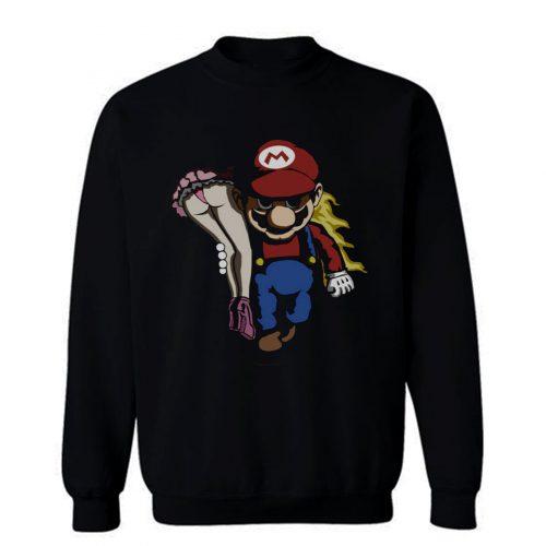Nintendo Mario and Peach Sweatshirt