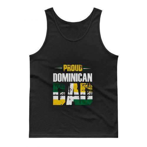 Proud Dominican Dad Tank Top