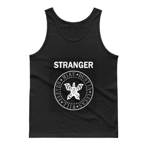 Stranger Mike Dustin Lucas Will Elevan Tank Top