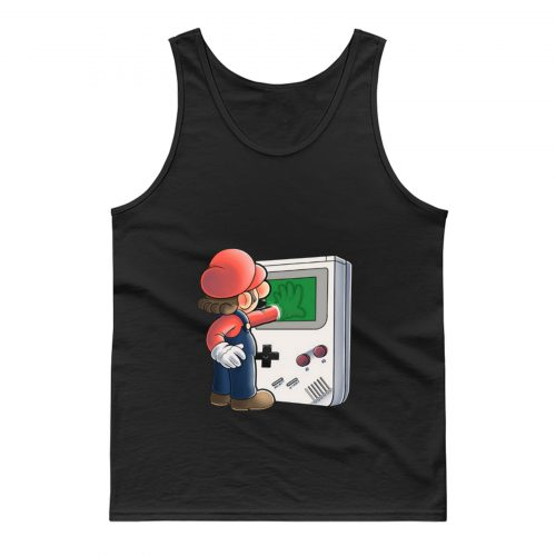 Super Mario Brothers Gameboy Tank Top