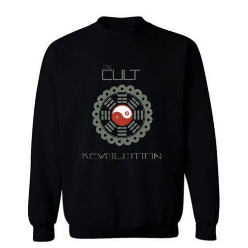 THE CULT REVOLUTION BLACK GOTHIC ROCK LOVE 1985 IAN ASTBURY Sweatshirt