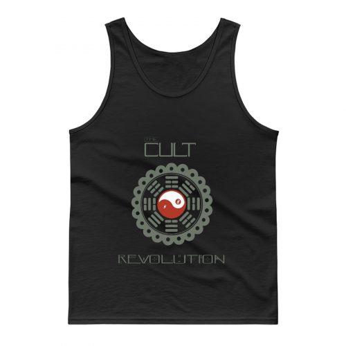 THE CULT REVOLUTION BLACK GOTHIC ROCK LOVE 1985 IAN ASTBURY Tank Top